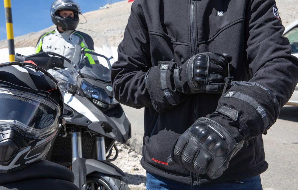Chaquetas y guantes calefactables de Vquattro