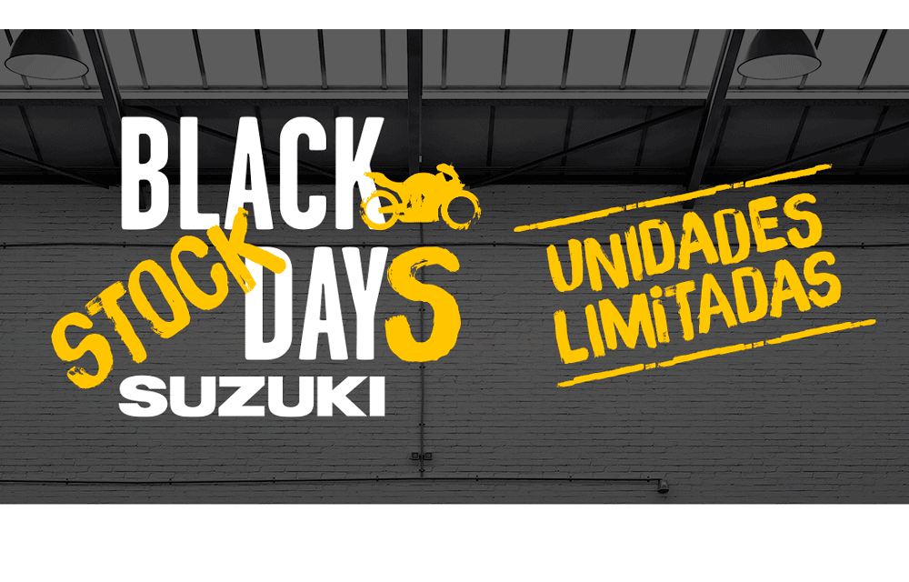 Comienzan los Black Stock Days Suzuki