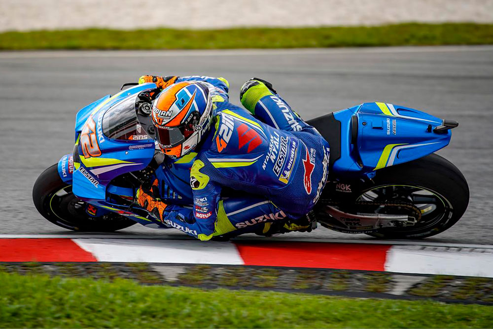 Alex Rins fue segundo en el Gran Premio de Malasia