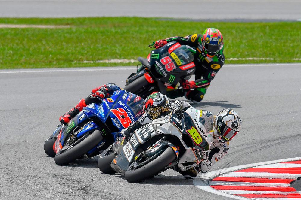 Albaro Bautista y Maverick Viñales GP de Malasia