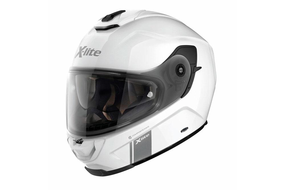 Casco integral X-903 N-Com de Lite blanco