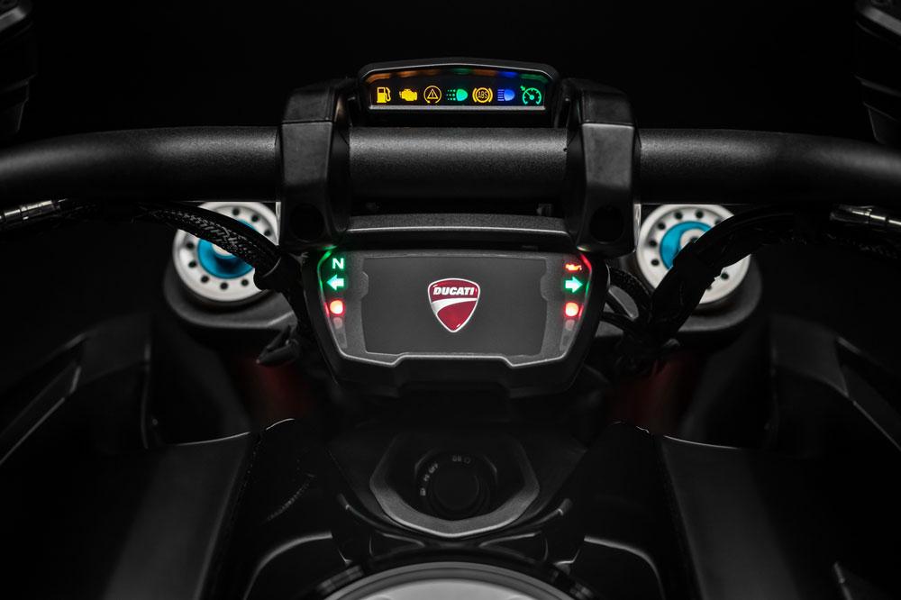 Cuadro de Instrumentos de la Ducati Diavel S 2019