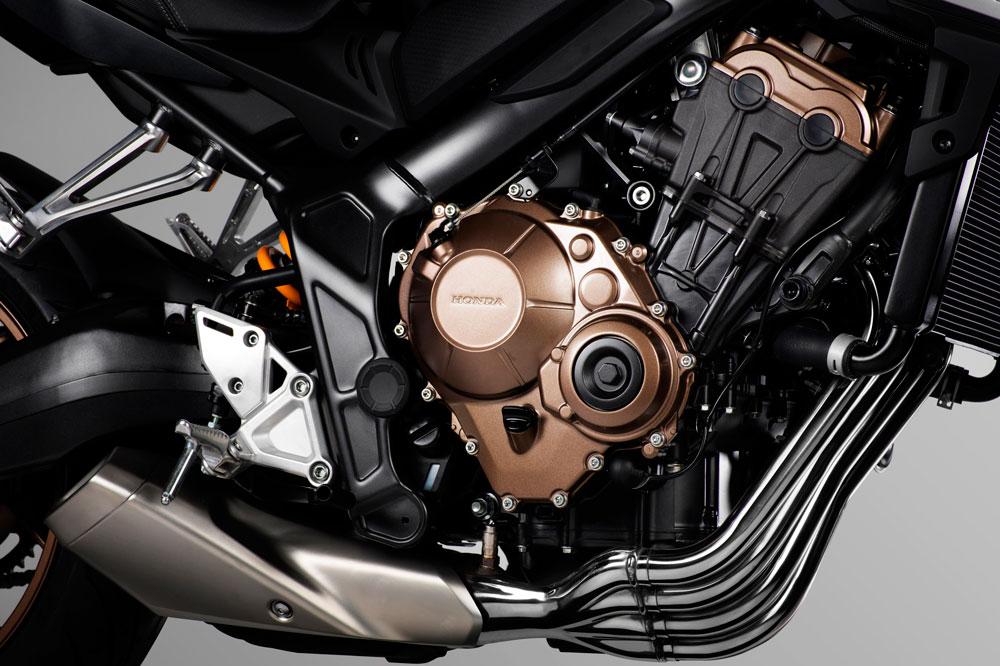 Motor de la Honda CB 650 R 2019