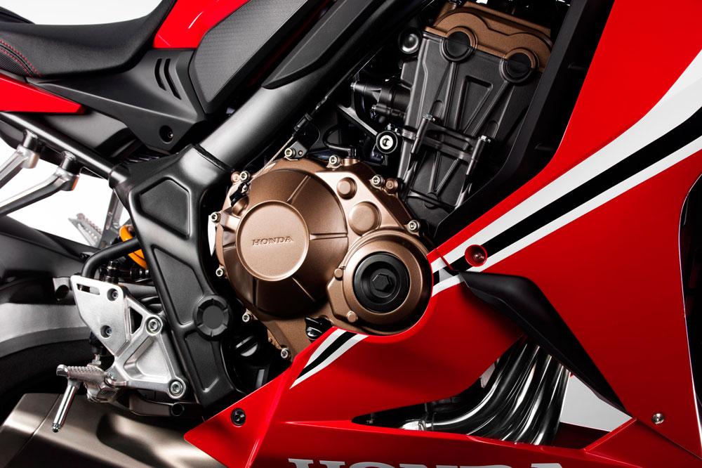 Motor de la Honda CBR 650 R