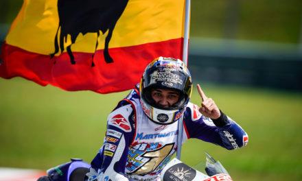 Jorge Martín, Campeón del Mundo de Moto3