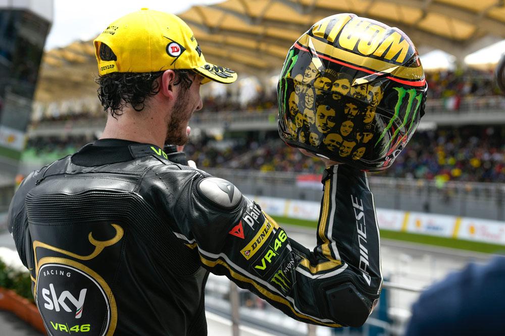 Pecco Bagnaia, Campeón del Mundo Moto2 2018