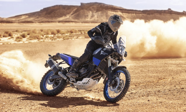 Yamaha XTZ 700 Tenere: Moto trail de aventuras