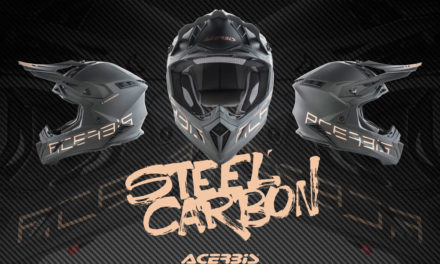 Casco integral Steel Carbon de ACERBIS