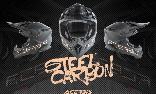 Casco integral Steel Carbon de ACERBIS