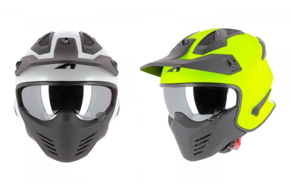 Casco jet Elektron de Astone Helmets