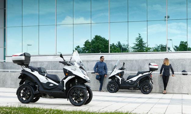 Los scooters Qooder y QV3 de Quadro, en promoción