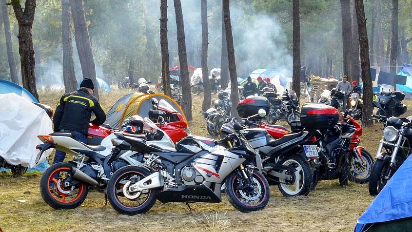 Concentración de motos La Leyenda Continúa