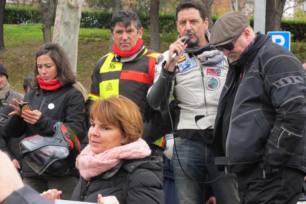 Alicia Sornosa, Gustavo Cuervo, Juan Carlos Toribio y Marcel Barrilero: Madrid en Moto Sí