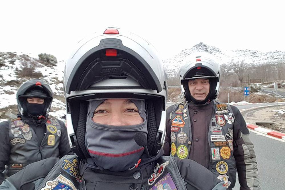Equipamiento para ir en moto en invierno