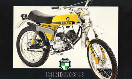 Puch Minicross Super: Motos de leyenda