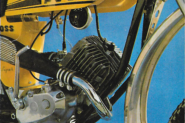 Motor de la Puch Minicross Super