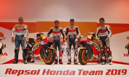 25 años del Repsol Honda Team en MotoGP y 500