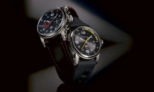 Segunda colección de relojes Ducati y Locman