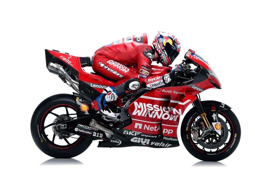 Andrea Dovizioso en su Ducati MotoGP 2019