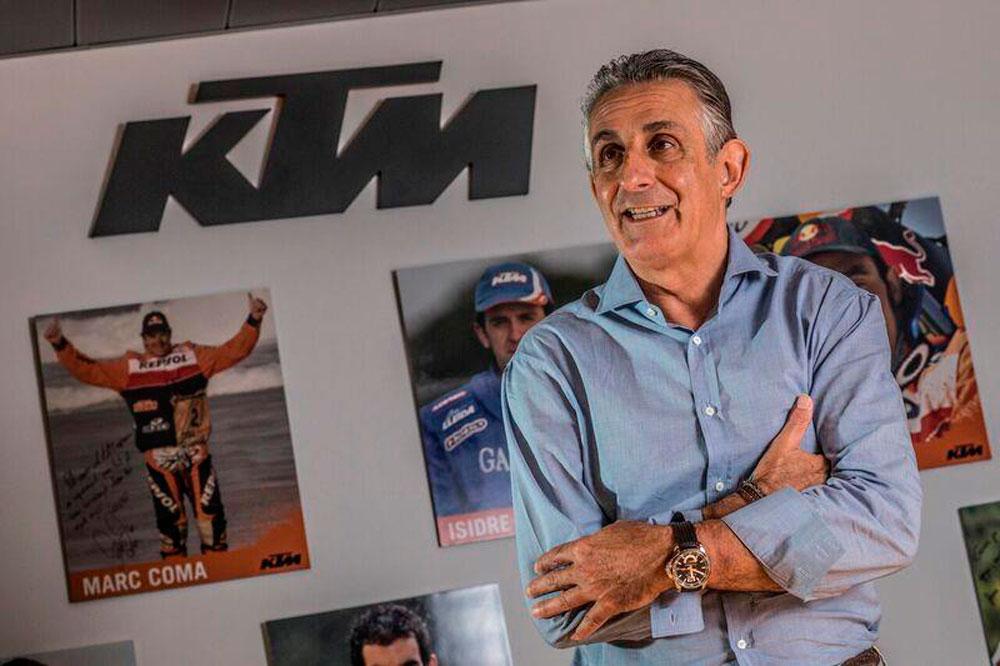 César Rojo es Managing Director de KTM España