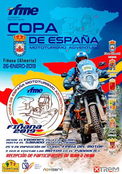 Copa de España de Mototurismo en Fiñana Almeria