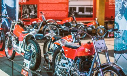 50 años de la Montesa Cota en el Museo de la Moto de Basella