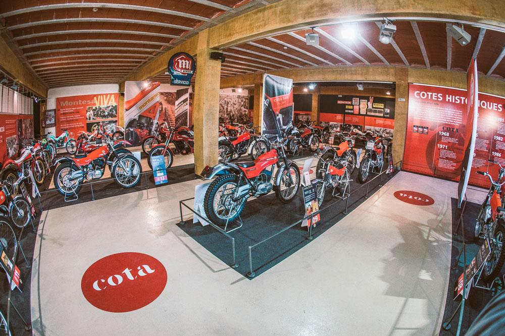 Exposición 50 años de la Montesa Cota
