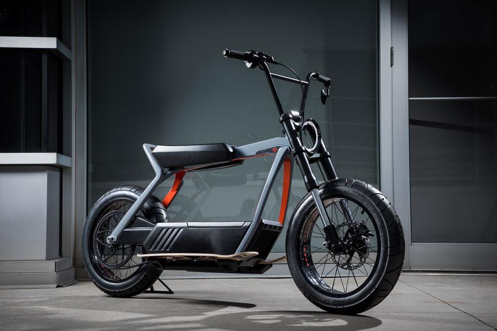Harley Davidson Electrica Concept