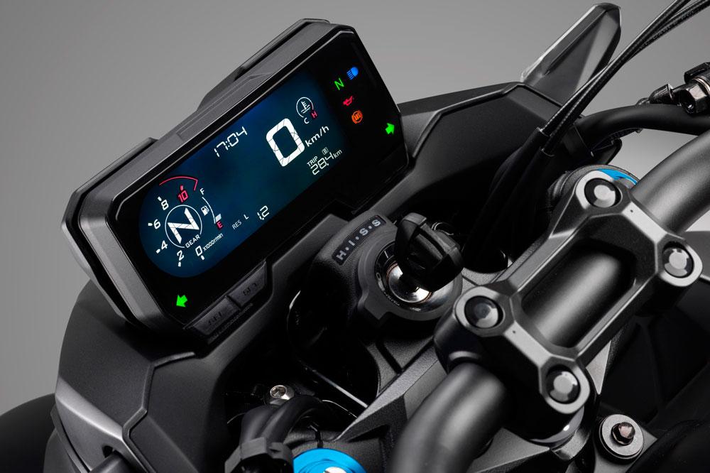 Cuadro de instrumentos de la Honda CB 500 F