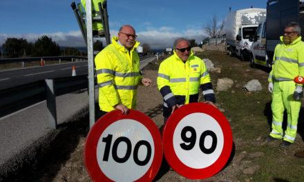 Nuevos límites de velocidad: 90 km/h en carreteras nacionales