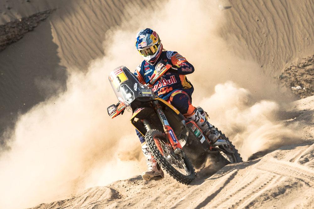 Toby Price ha arrastrado una lesión durante todo el Dakar 2019