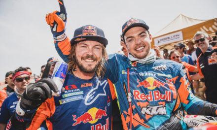 Toby Price consigue su segunda victoria en el Rally Dakar