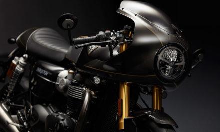 Triumph Thruxton TFC: Customización de fábrica