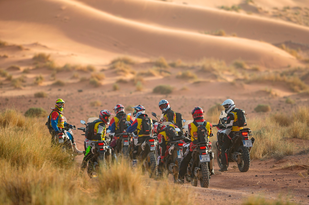 Africa Twin Morocco Epic Tour 2019