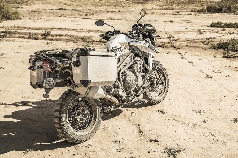 Promoción maletas Expedition Triumph Tiger
