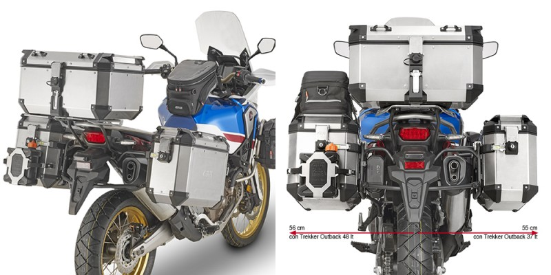 Equipamiento Givi para la CRF 1000L Africa Twin Adventure Sports