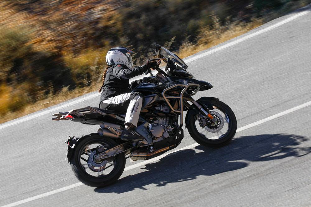 Zontes T 310, moto trail para el carnet A2