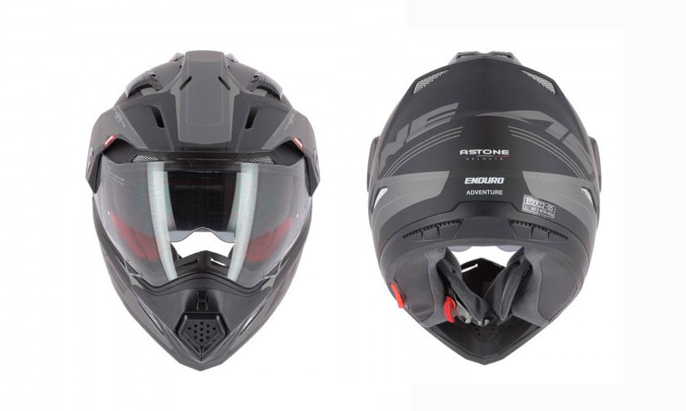 Casco Crosstourer de Astone Helmets negro