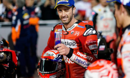 Dovizioso vence a Márquez por escasas milésimas en el GP de Qatar
