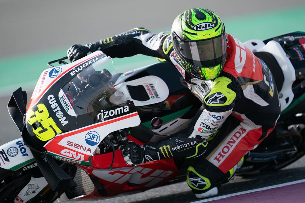 Cal Crutchlow se quitó la espina de su lesión pretemporada con este podio en el GP de Qatar