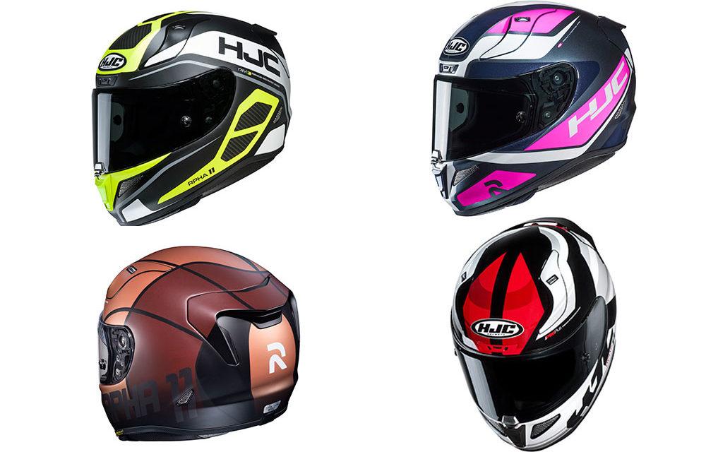 Nuevas gráficas para el casco RPHA 11 de HJC