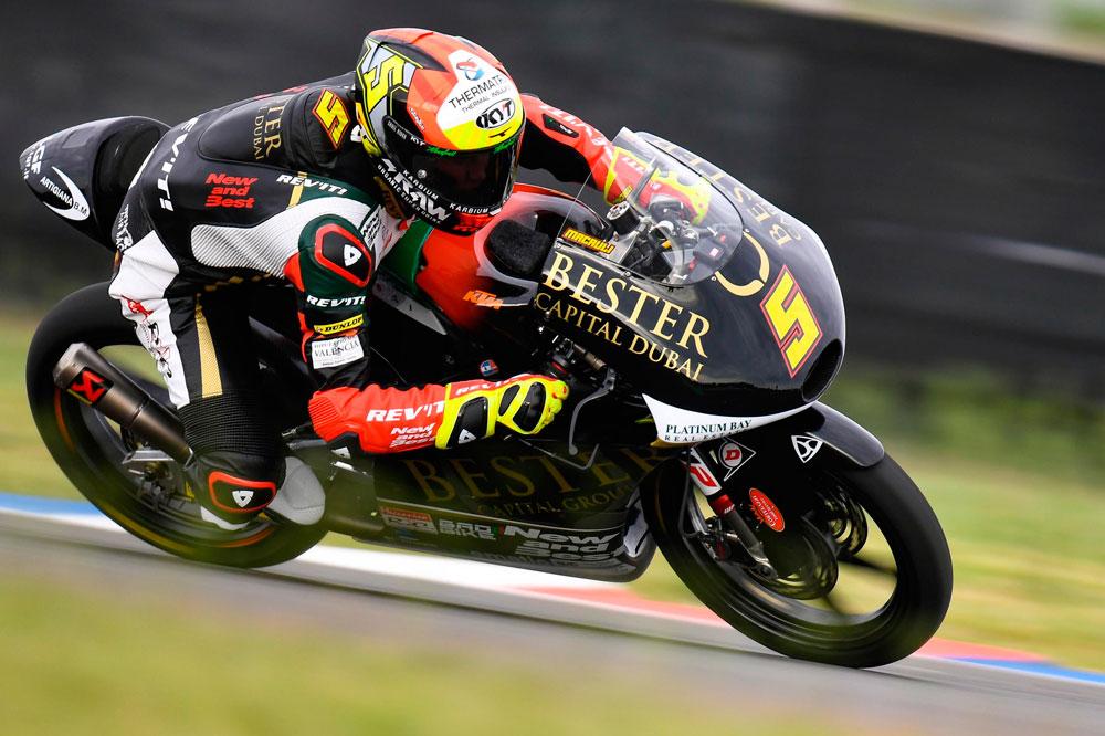 Victoria de Jaume Masia en Moto3 en el GP de Argentina