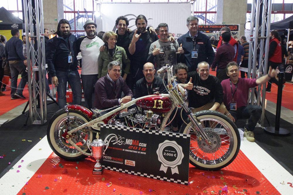 El concurso de constructores MotoMadrid este año de denominará Madrid Bike Show
