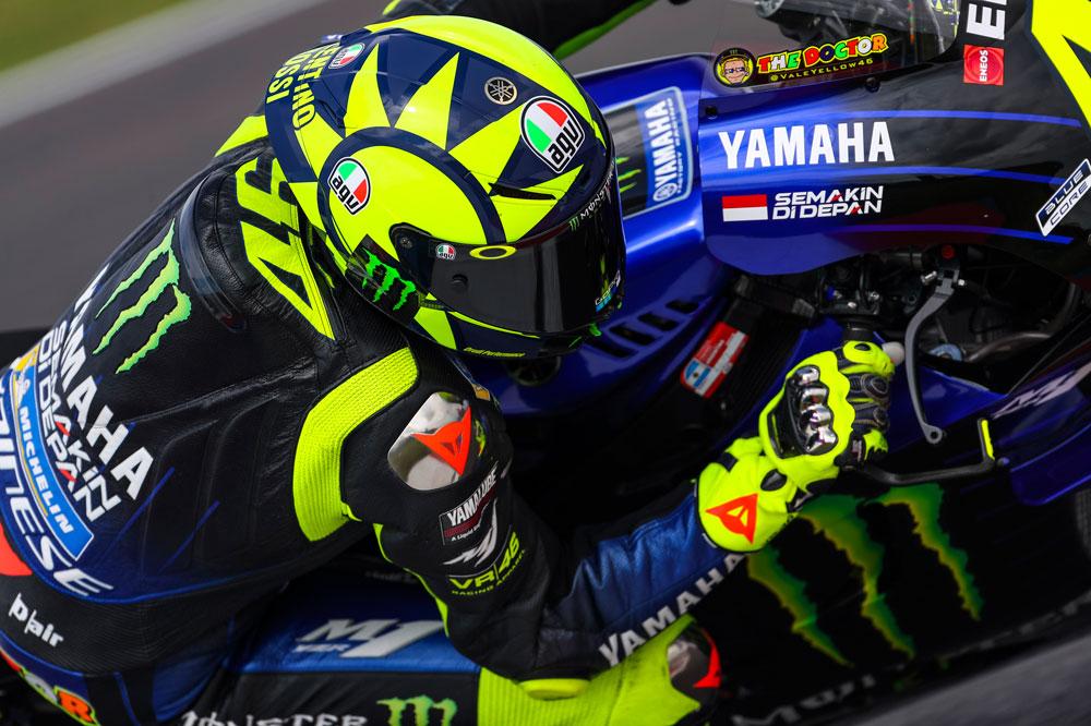 Valentino Rossi, segundo en el GP de Argentina