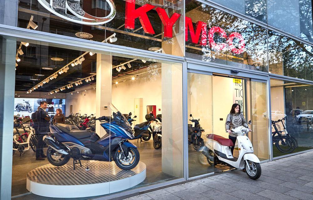 KYMCO inaugura su nueva tienda en Madrid