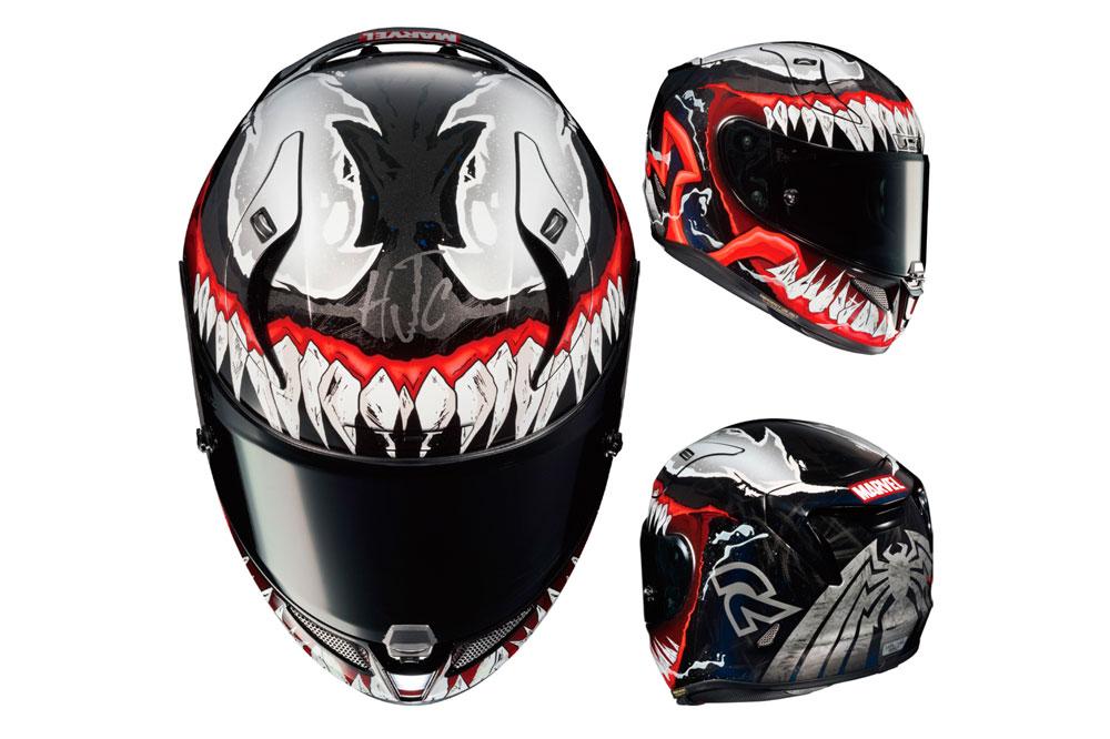 Casco integral Venom II Marvel RPHA 11 de HJC
