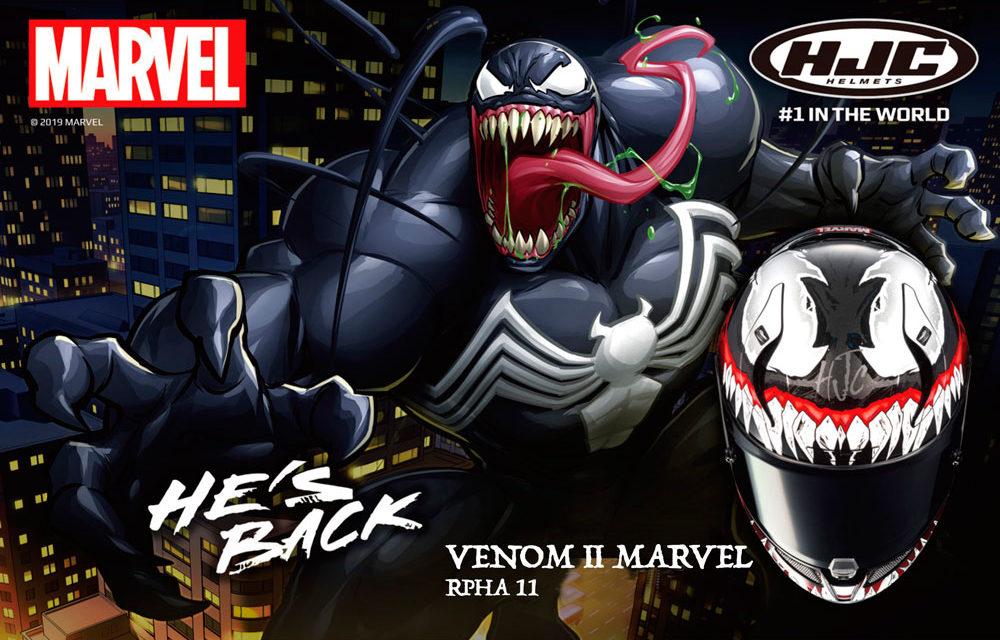 Casco RPHA 11 Venom 2 Marvel de HJC