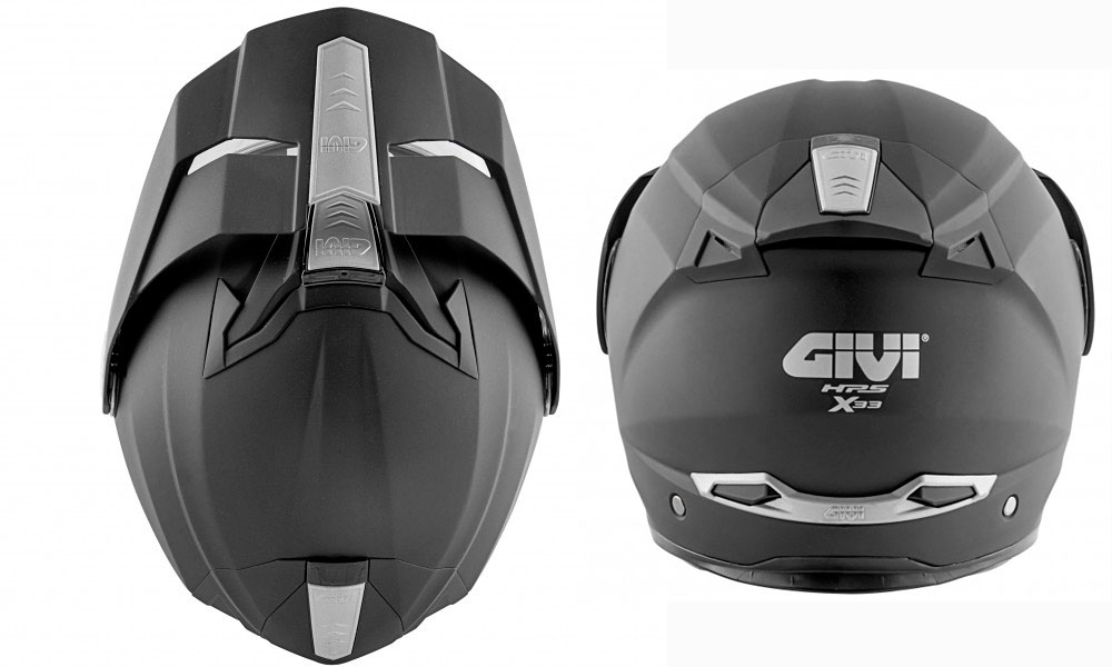 Casco modular X.33 negro de Givi