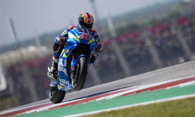 Alex Rins entra en la historia de MotoGP tras su victoria en Americas 2019