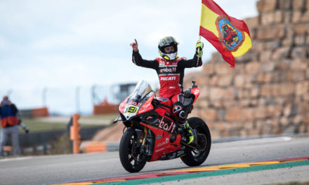 SBK: Alvaro Bautista deslumbra en Motorland Aragon